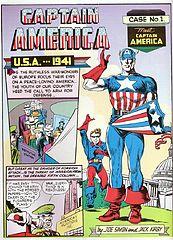 Captain America - Meet Captain America [1941.03 - Captain America Comics #01].cbz