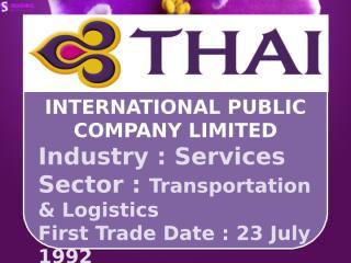 Thai airways (THAI).pptx