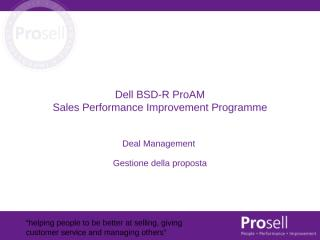 Deal Management Slides Italiano.ppt