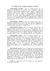 LEY ORGÁNICA DEL TRIBUNAL SUPERIOR ELECTORAL.pdf