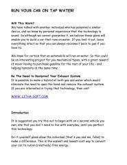 Run your car on tap water.pdf