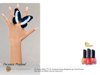 I'm yours proposal-English.pdf