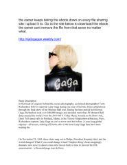 LADY GAGA x TERRY RICHARDSON pdf.pdf