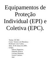 Equipamentos de Proteção Individual (EPI) HST.doc