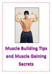 Muscle Building Tips and Muscle Gaining Secrets.pdf