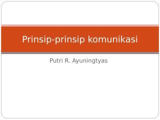 prinsip-prinsip komunikasi.ppt